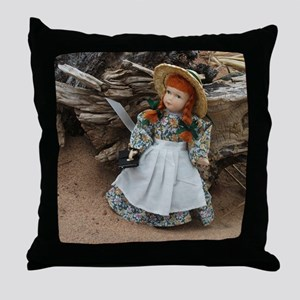 Anne of Green Gables Doll  Throw Pillow
